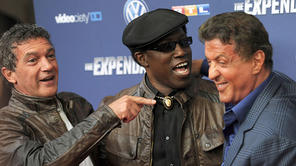 Romantische Momente am Set von 'The Expendables 3'