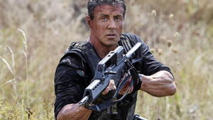 Sylvester Stallon in 'The Expendables 2'