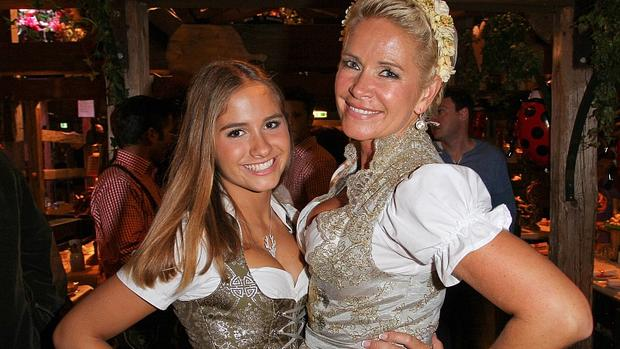 Claudia Effenberg mit Tochter Lucia