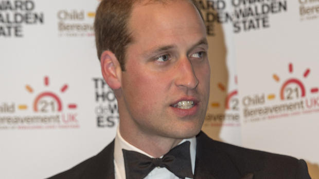 Prinz William will helfen