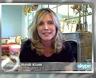 Heidi Klum Interview nach Geburt