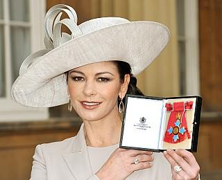Catherine Zeta-Jones Orden von Queen