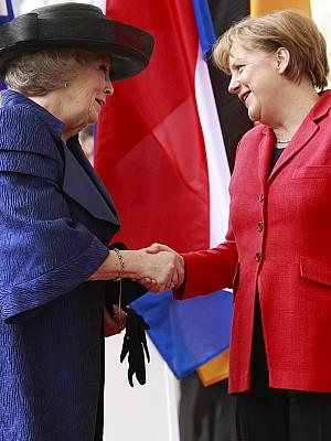 Königin Beatrix in Deutschland