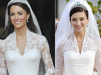 Kate Middleton Hochzeitskleid gab es schon einmal
