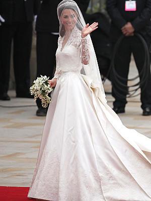 Kates Hochzeitskleid bald zu kaufen