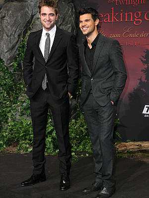 Twilight Premiere Berlin robert pattinson taylor lautner