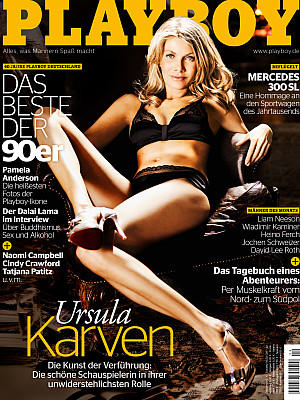 playboy april 2012 ursula karven