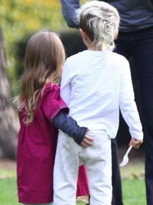 Kingston Rossdale und Ruby Maguire Liebespaar