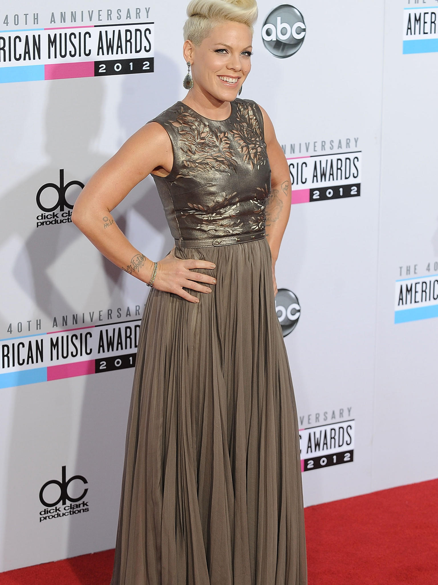 American Music Awards 2012 Roter Teppich
