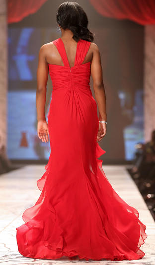 The Heart Truth Red Dress Collection Fashion Show 2013