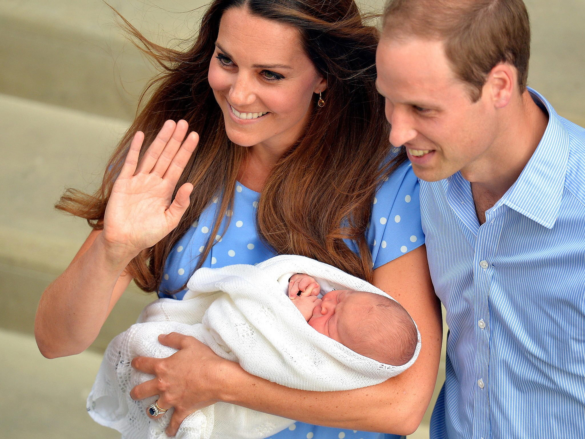 William Catherine George Royal Baby Fakten Hype