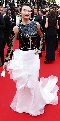 Cannes 2014 Style roter Teppich Tops Flops