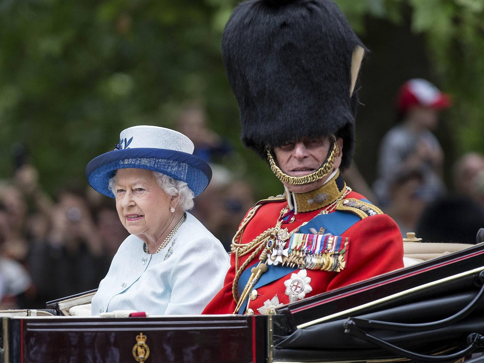 'Trooping the colours': Geburtstagsparade für die Queen