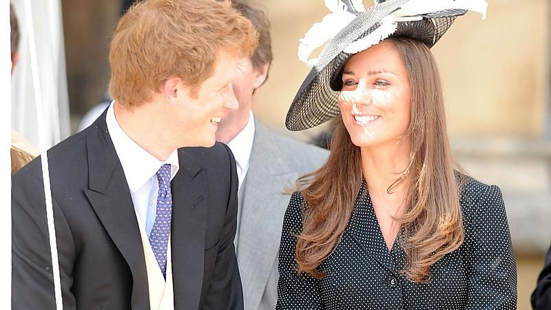 Kate Middleton heiratet Prinz Harry - zur Probe