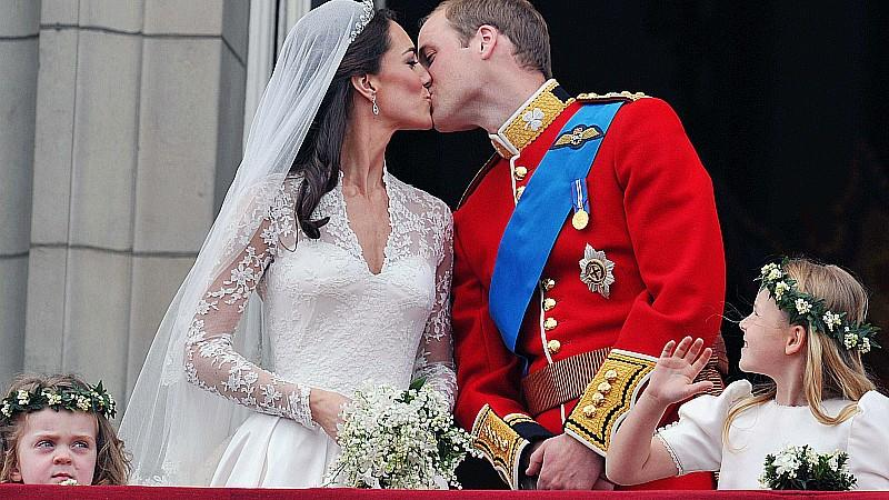 Kate und William im Honeymoon