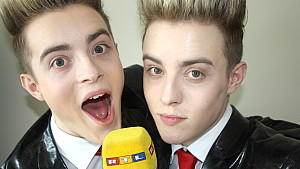 Pop-Duo Jedward im Interview