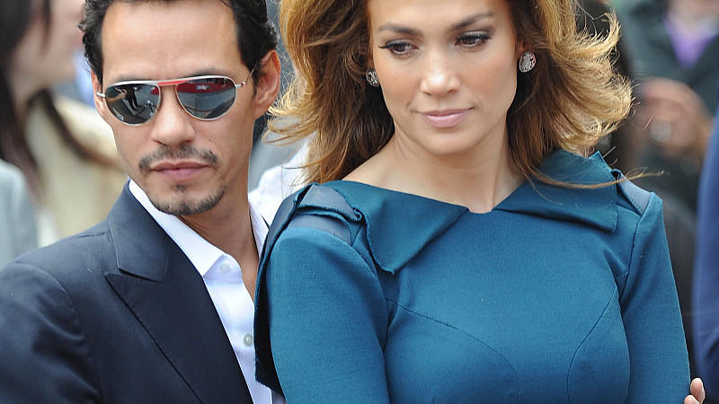 Jennifer Lopez und Marc Anthony