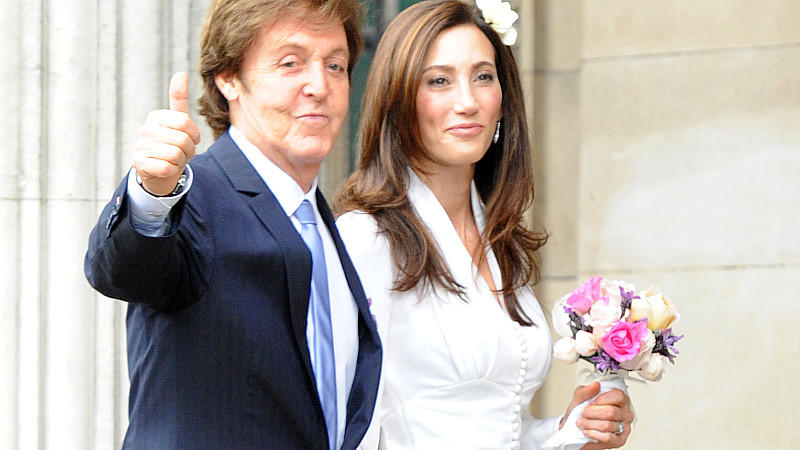 Paul McCartney hat seine Nancy Shevell geheiratet