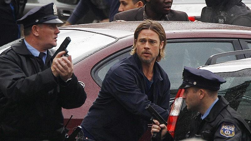 Brad Pitt: Razzia am Filmset von 'World War Z'