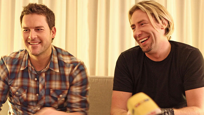 Exklusives Interview mit Nickelback