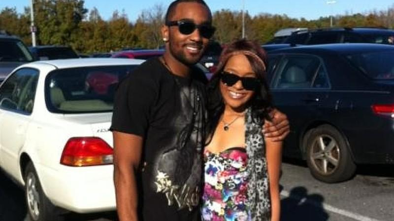 Nicholas 'Nick' Gordon mit Bobbi Kristina Houston.