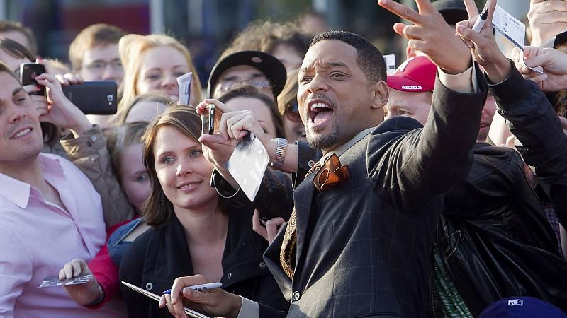 Will Smith bestens gelaunt