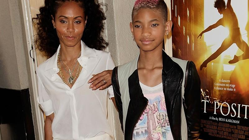 Willow Smith mit Mutter Jada Pinkett Smith