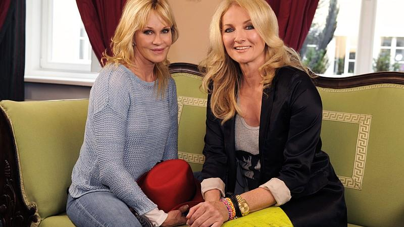 Melanie Griffith im Interview mit Frauke Ludowig.