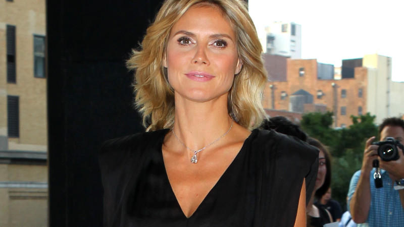 Heidi Klum in New York bei ihrer Party zur neuen 'Project Runway'-Staffel.