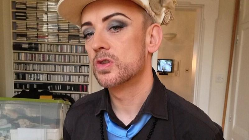 Boy George total schlank