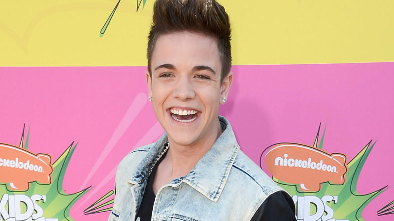 Luca Hänni bei den 'Kid's Choice Awards'
