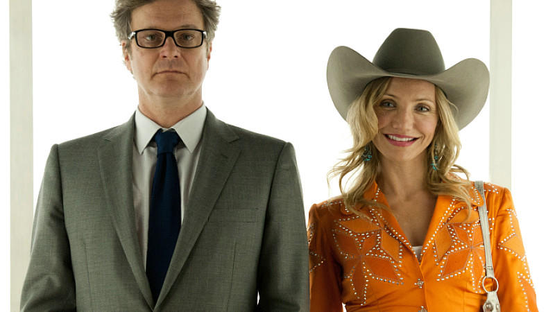 Colin Firth und Cameron Diaz in 'Gambit'