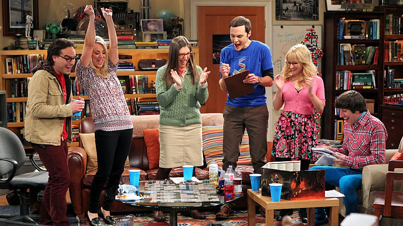 'The Big Bang Theory'-Darsteller Jim Parsons Johnny Galecki Kaley Cuoco mehr Geld