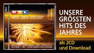 RTL Hits 2013 - Unsere Hits des Jahres