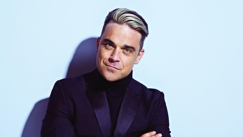 Robbie Williams: Fotosession fürs neue Album