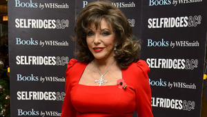 Joan Collins rät Teenies vom Heiraten ab
