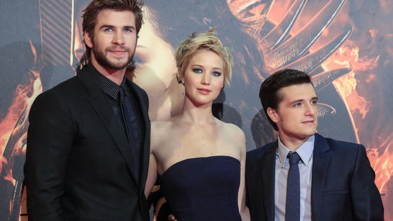 Liam Hemsworth, Jennifer Lawrence und Josh Hutcherson