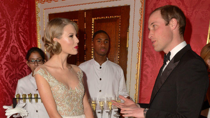 Taylor Swift und Prinz William