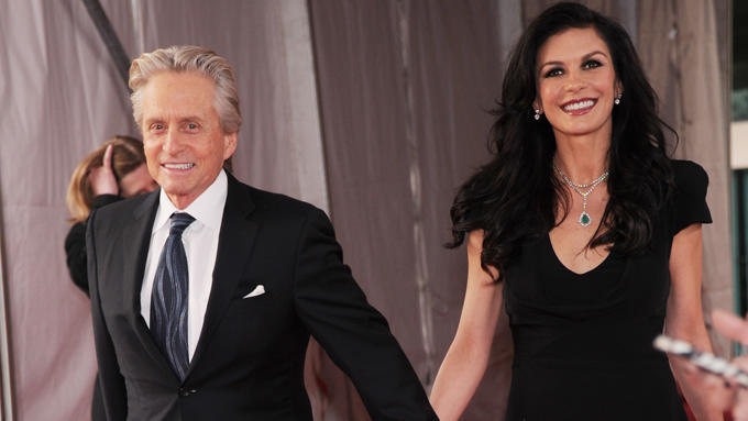 Michael Douglas und Catherine Zeta Jones