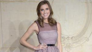 Allison Williams: Sex im TV? Mama verzieht keine Miene