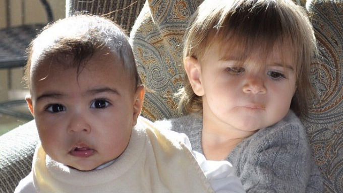 North West und Penelope Disick