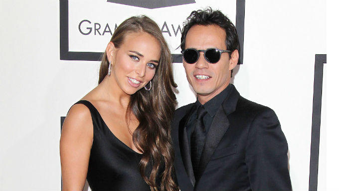 Chloe Green und Marc Anthony