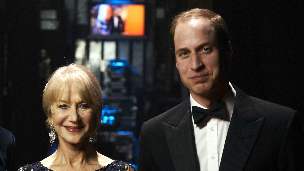 Helen Mirren und Prinz William