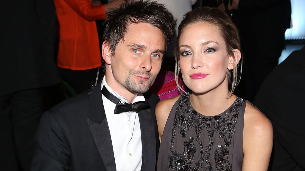 Matt Bellamy und Kate Hudson