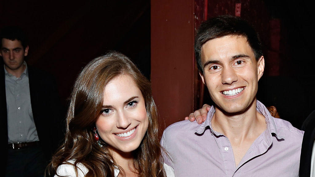Allison Williams und Ricky Van Veen