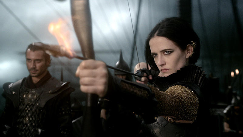 Eva Green als Artemisia in '300: Rise of an Empire'