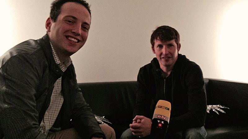 James Blunt im Interview