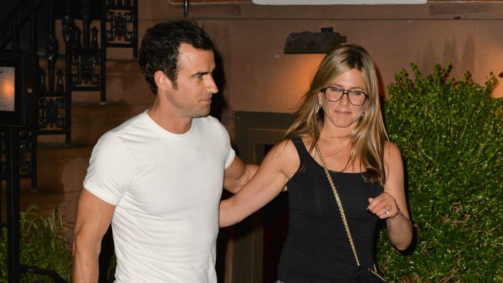 Justin Theroux und Jennifer Aniston