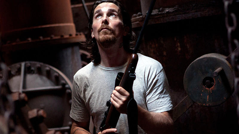 Christian Bale in 'Auge um Auge'