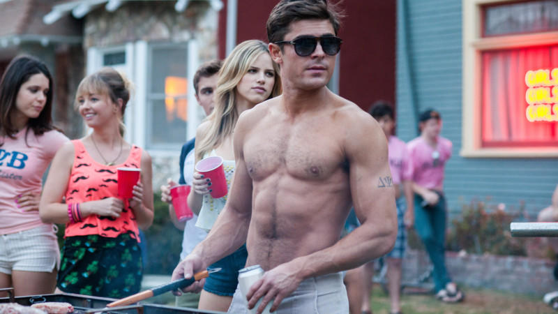 Zac Efron als Teddy in 'Bad Neighbors'